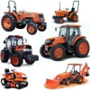 Kubota B2100D Tractor Illustrated Master Parts List Manual